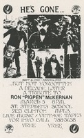 "Tribute to Ron ""Pigpen"" McKernan / St. Stephens School, March 5, 1983"