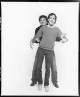 Steve Parish (?) and Bob Weir