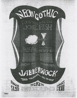 Neon Gothic - Country Joe and the Fish / Jabberwock, November 6-10 [unidentified]