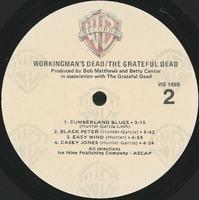 Workingman's Dead [album cover]