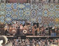 Grateful Dead - Greek Theatre - Phil Lesh, Bill Kreutzmann, Bob Weir, Mickey Hart, Jerry Garcia, John Cipollina, Brent Mydland