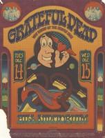 Grateful Dead, New Riders of the Purple Sage - UAC/Daystar Presents in Ann Arbor - December 14-15 [1971] - Hill Auditorium