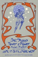 Boz Scaggs, Tower of Power, Mason Proffit - Lights by Crimson Madness - Bill Graham Presents in San Francisco - Fillmore West - June 17-20, 1971