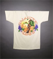 "T-shirt: ""Grateful Dead"" - frogs. Back: ""Fall Tour 1993"" - frog"