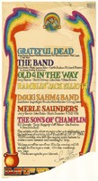 Grateful Dead, The Band, Old & in the Way, Ramblin' Jack Elliott, Doug Sahm & Band, Merle [sic] Saunders, The Sons of Champlin - Sam Cutler, Out of Town Tours