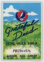Grateful Dead - June-July Tour - Access All Areas [laminate]