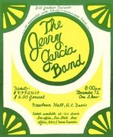 Jerry Garcia Band - Freeborn Hall, UC Davis, November 12, 1976