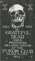 Grateful Dead - video / Yukon Club, Minneapolis, October 9 and 10