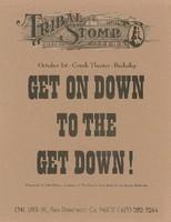 Tribal Stomp / Presented by Chet Helms / October 1, Greek Theater, Berkeley