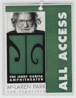 Jerry Garcia Amphitheater, McLaren Park [Dedication] - All Access [laminate]