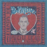 Grateful Dead, Country Joe & The Fish / Light by LSD / February 14, 1968, Carousel Ballroom / [Back: handwritten notes]