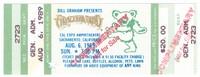 Bill Graham Presents Grateful Dead - Cal Expo Amphitheatre - August 6, 1989