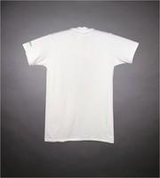 """T-shirt: """"Save the Rainforests"""" bird, lizard. Sleeve: """"Rainforest Action Network"""""""