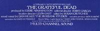 """The Grateful Dead"" - Produced by Eddie Washington - Editorial Director Jerry Garcia"