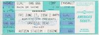 BGP / FTP / DTP Presents Grateful Dead / Cracker - Autzen Stadium - June 17, 1994