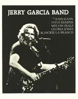 Jerry Garcia Band with John Kahn, Dave Kemper, Melvin Seals, Gloria Jones & Jackie La Branch