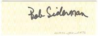 "The Rex Foundation Presents Grateful Dead - Berkeley Community Theatre - March 12, 1985. Back: ""Bob Sideman [i.e., Bob Seidemann?]""."