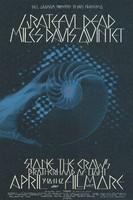 Grateful Dead, Miles Davis Quintet, Stone the Crows - Lights by Brotherhood of Light - Bill Graham Presents in San Francisco - Fillmore West - April 9-12, 1970