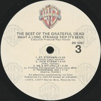 What a Long, Strange Trip It's Been: the Best of the Grateful Dead [album cover]