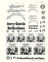 Jerry Garcia - Reflections - LP No. RX-LA 565-G