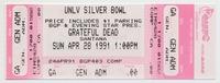 BGP and Evening Star Present - Grateful Dead, Santana - UNLV Silver Bowl - April 28, 1991
