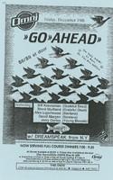 Go Ahead featuring Bill Kreutzmann, Brent Mydland, Alex Ligertwood, David Margen, Jerry Cortez - with Dreamspeak from N.Y. / The Omni, Friday, December 19 [1986]