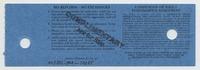 Bill Graham Presents Grateful Dead - Oakland Coliseum Arena - December 28, 1990