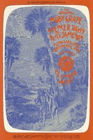 Original Moby Grape, Spencer Davis and Peter Jameson, Flash Cadillac and the Continental Kids - Lights: Images - Bill Graham Presents in San Francisco - Fillmore West - June 24-27, 1971