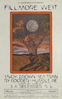 Savoy Brown, Sea Train, Ry Cooder, Humble Pie - Lights by Sunburst - Bill Graham Presents in San Francisco - Fillmore West - December 3-6, 1970 / Tom Paxton - December 7 / Ravi Shankar & Alla Rakha - December 16