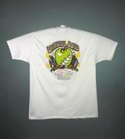 """T-shirt: """"Grateful Dead / Fall Tour 1994 / New York"""". Back: """"Grateful Dead / Fall Tour 1994 / New York"""" - big apple, skyscrapers"""