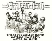 Grateful Dead, The Steve Miller Band. May 29-31, 1992, Silver Bowl, Las Vegas