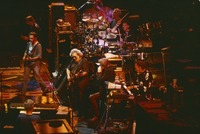 Grateful Dead and guests: Bruce Hornsby, Bob Weir, Phil Lesh, Jerry Garcia, unidentified harmonica player, Bill Kreutzmann, Mickey Hart, unidentified keyboardist