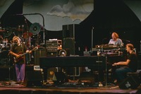 Jerry Garcia, Vince Welnick, and Bruce Hornsby, ca. 1991