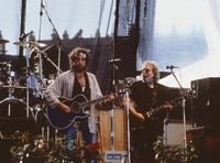 Bob Dylan and Jerry Garcia