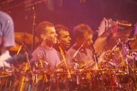 Mickey Hart: multiple exposure