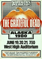 Grateful Dead - June 19-21, 1980, West High Auditorium, Anchorage