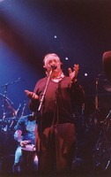 "Ken Nordine, with Bill Kreutzmann, reciting either ""Flibberty Jib"" or ""The Island"" during ""Drumz"""