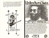 Unbroken Chain, Volume 1, No. 2 - Spring 1986
