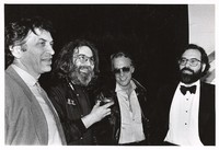 Bay Area Music Awards: Bill Graham, Jerry Garcia, Howard Hesseman and Francis Ford Coppola