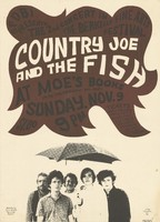 Country Joe and the Fish - SFDBI Presents the 2nd Concert in the Berkeley Fine Arts Festival - Moe's Books, Sunday, November 9 [1966]