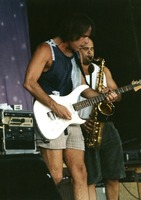 Bob Weir and Dave Ellis at Furthur Festival II