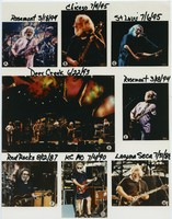 Grateful Dead at Deer Creek, surrounded by Jerry Garcia at various venues, 1987-1995