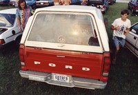 "Deadhead vehicle with ""GDTRFB"" Tennessee license plate, ca. 1991"