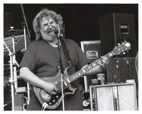 "Jerry Garcia, with the guitar, ""Tiger"""