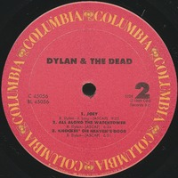 Dylan & the Dead [album cover]