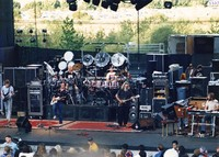 "Grateful Dead playing ""Wang Dang Doodle"": Phil Lesh, Bob Weir, Bill Kreutzmann, Mickey Hart, Jerry Garcia, Brent Mydland"
