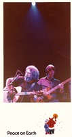 Grateful Dead, ca. 1980: Jerry Garcia and Phil Lesh on a holiday greeting card