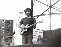 Jerry Garcia at an unidentified venue, ca. 1974