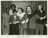 Jerry Garcia Band, ca. 1982: Jaclyn LaBranch, Melvin Seals, Dee Dee Dickerson, Greg Errico, Jerry Garcia, John Kahn