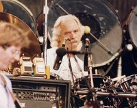 Grateful Dead: Bill Kreutzmann, with Phil Lesh in the foreground